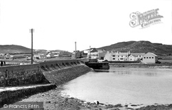 Achill Island, The Bridge And Sweeney's c.1955