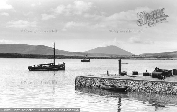 Photo of Achill Island, The Quayside c.1955