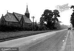 All Saints Church c.1955, Ackworth