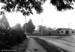 The Garage c.1955, Ackworth