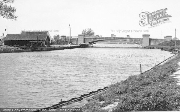 Photo of Acle, Bridge And River Bure c.1955