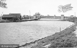 Acle, Bridge And River Bure c.1955