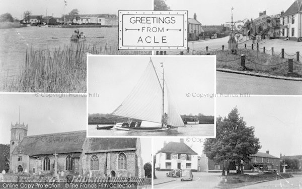 Photo of Acle, Composite c.1955