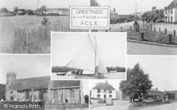 Acle, Composite c.1955