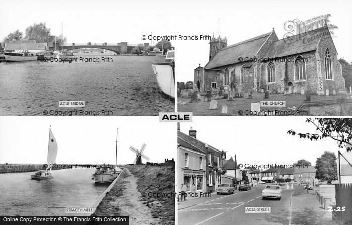 Photo of Acle, Composite c.1965