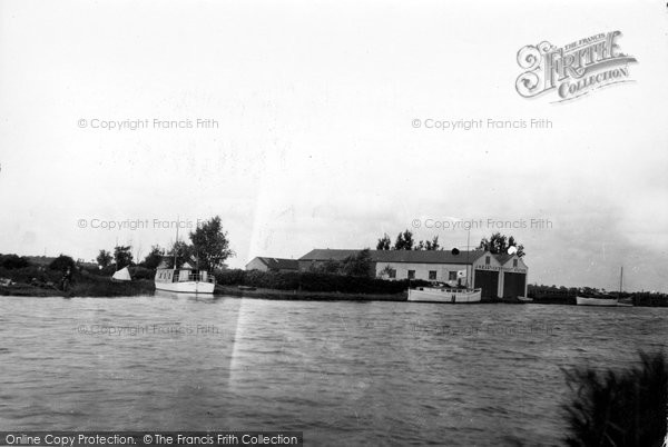 Photo of Acle, Eastick's Yacht Station c.1929