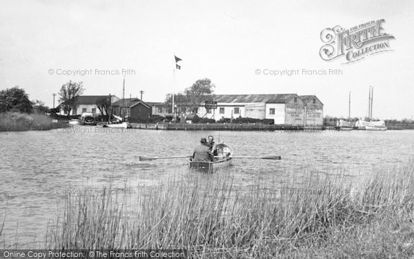 Photo of Acle, Eastick's Yacht Station c.1955