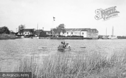 Acle, Eastick's Yacht Station c.1955