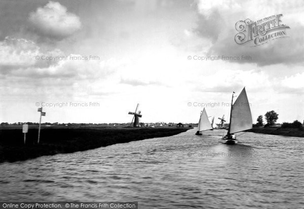 Photo of Acle, Entrance To River Thurne c.1926