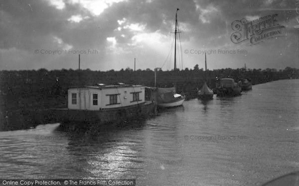 Photo of Acle, Evening At Acle c.1955
