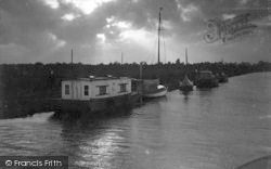 Acle, Evening At Acle c.1955