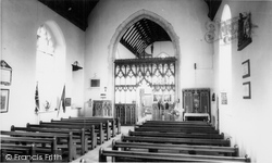 Interior Of The Church c.1955, Acle