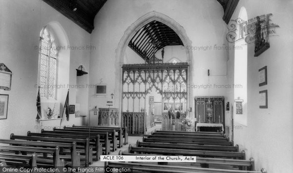 Photo of Acle, Interior Of The Church c.1955