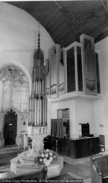 Acle, Interior Of The Church c.1955