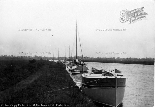 Photo of Acle, Lying To On The Bure c.1929