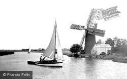 Acle, Oby Drainage Windmill c.1929