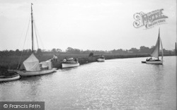 Acle, On The Bure c.1939