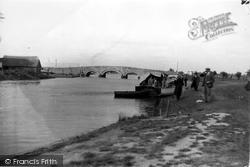 River Bure And Bridge c.1930, Acle