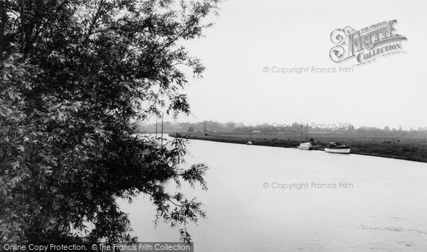 Photo of Acle, River Bure c.1955
