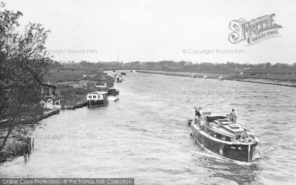 Photo of Acle, River Bure From The Bridge c.1955