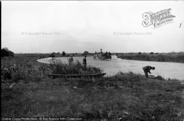 Photo of Acle, River Steamer c.1930