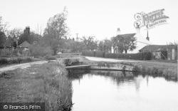 Acle, Sluice Boat Dyke c.1955