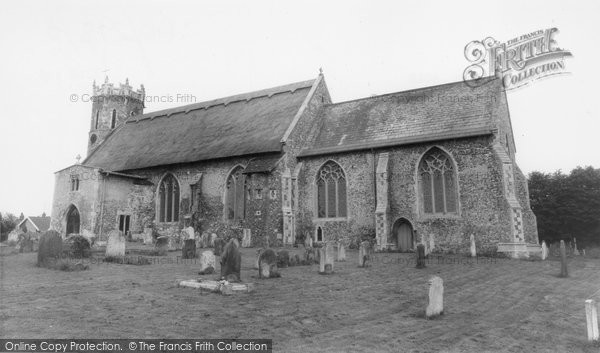 Acle, St Edmund's Church c.1955