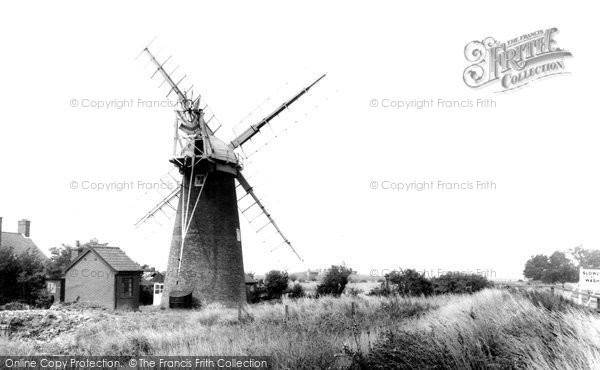 Photo of Acle, Stracey Mill c.1960
