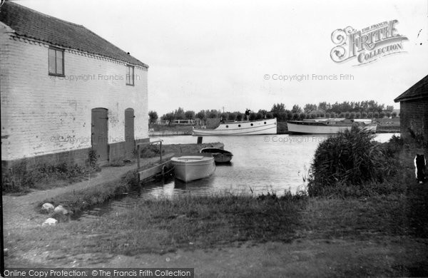 Photo of Acle, The Anchorage At Bridge Hotel c.1929