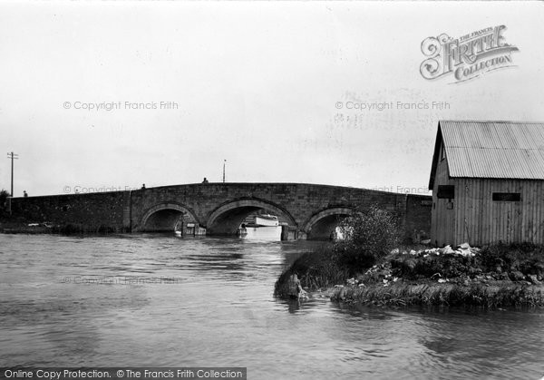 Photo of Acle, The Bridge c.1930