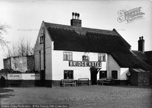 Photo of Acle, The Bridge Hotel c.1950