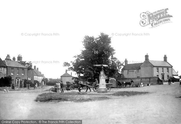 Photo of Acle, The Green From The Post Office c.1926