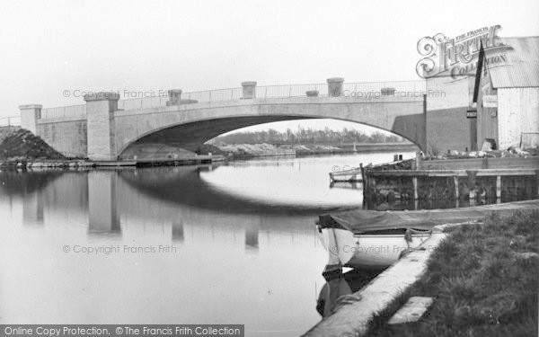Photo of Acle, The New Bridge c.1955