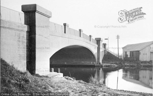 Photo of Acle, The New Bridge c.1955