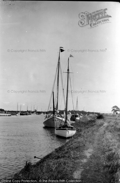 Photo of Acle, The River Bure c.1929