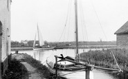 Acle, The River Bure c.1930