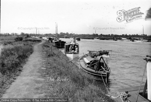 Photo of Acle, The River Bure c.1930