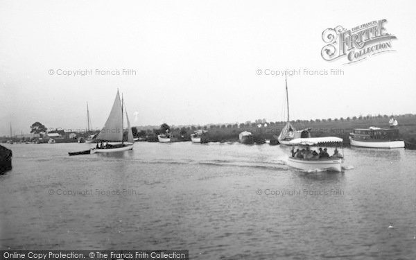 Photo of Acle, The River c.1930