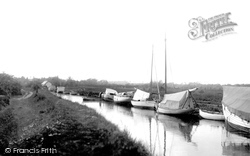 Acle, The Staithe Side c.1929