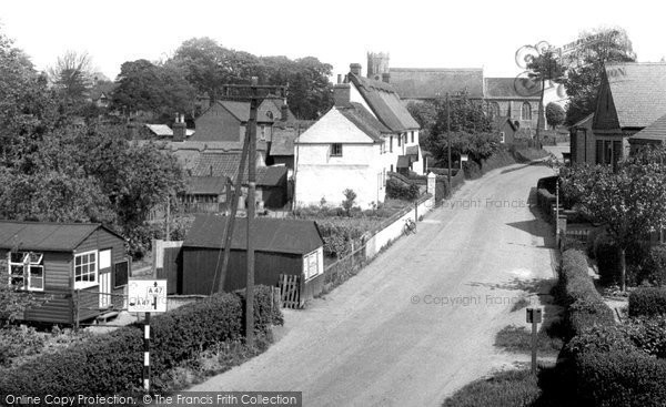 Photo of Acle, The Village c.1955