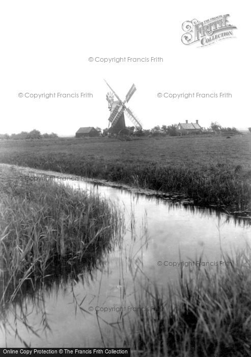 Acle,the Windmill c1929,Norfolk