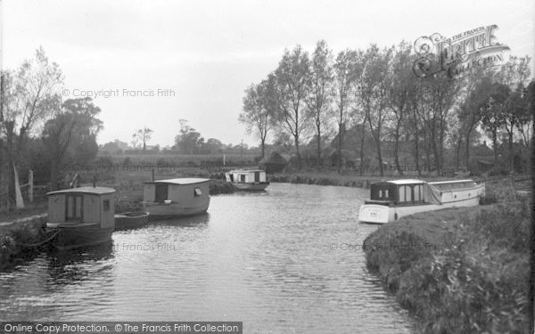 Photo of Acle, Upton Staithe c.1955