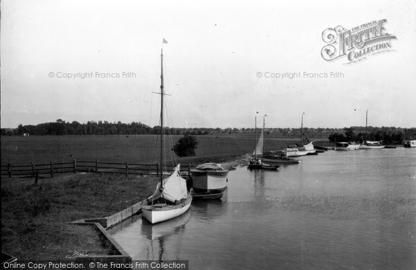 Photo of Acle, View From Acle Bridge c.1929