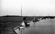 Acle, View From Acle Bridge c.1929