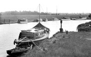 Acle, View From The Bridge c.1930