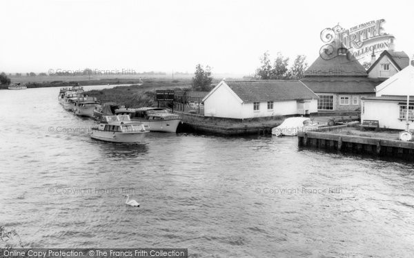 Photo of Acle, View From The Bridge c.1965