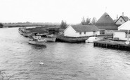 Acle, View From The Bridge c.1965