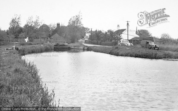Photo of Acle, View Of Boat Dyke c.1955