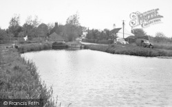 Acle, View Of Boat Dyke c.1955