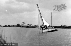 Yachting On The Bure c.1955, Acle